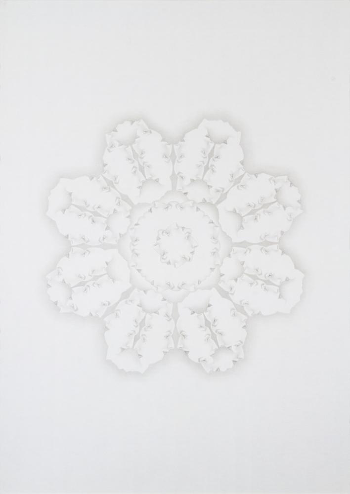 9-Sahar Safarian, Forbidden No.2,  2013, Pencil On Cardboard, 70 x 50 cm.