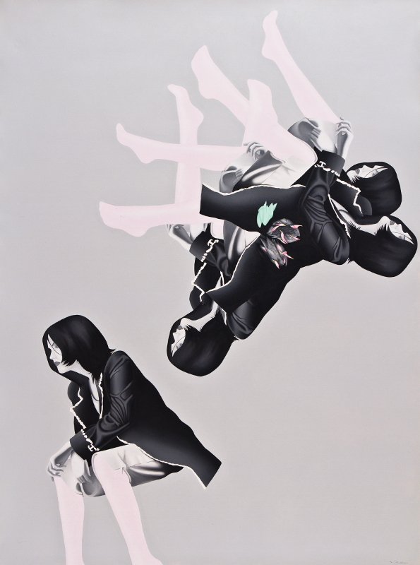 Sahar Safarian, Acrylic on canvas, 195x144 cm, 2011