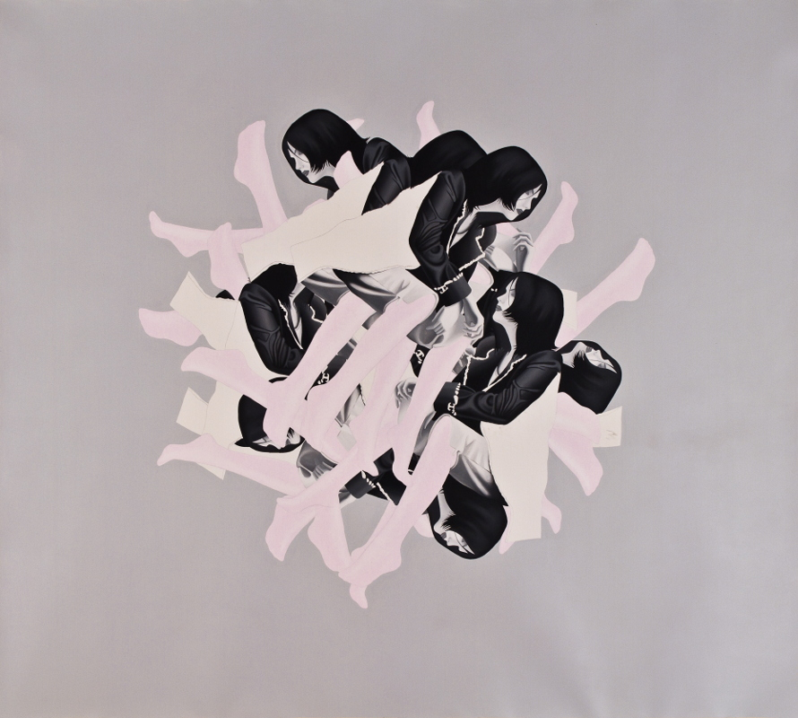 Sahar Safarian, Acrylic on canvas, 205x220 cm, 2011