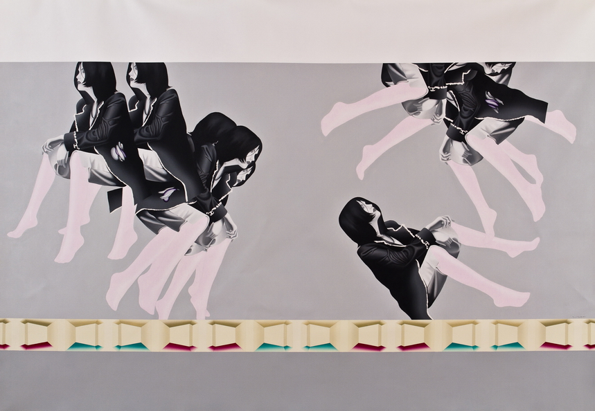 Sahar Safarian, Acrylic on canvas, 205x300 cm, 2011